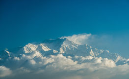 Mt kanchenjunga Photo libre de droits