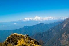 Mt kanchenjunga Photographie stock
