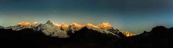 Mt kanchenjungha imagen de archivo