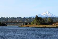 MT Kap van Wit Salmon River Stock Fotografie