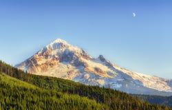 Mt Kapiszon Od Lolo przepustki Mt Kapiszonu las państwowy Zdjęcie Stock