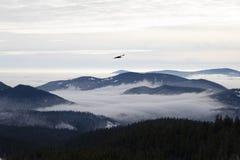 Mt kapiszonu widok cztery zdjęcia stock