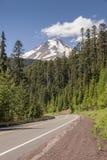 MT Kapwildernis en hwy-26 Oregon staat royalty-vrije stock afbeeldingen