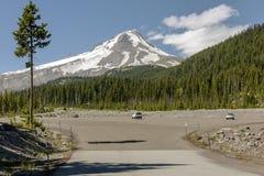 MT Kapwildernis en hwy-26 Oregon staat royalty-vrije stock foto