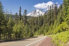 MT Kapwildernis en hwy-26 Oregon staat royalty-vrije stock fotografie