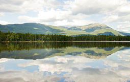 Mt. Katahdin at Baxter State Park Royalty Free Stock Photos