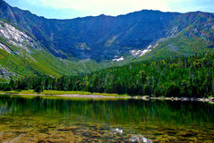 MT KATAHDIN - Chimney Pond. MT KATAHDIN / Chimney Pond - Baxter State Park, ME Stock Image