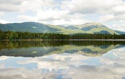 Mt. Katahdin no parque de estado de Baxter Fotos de Stock Royalty Free