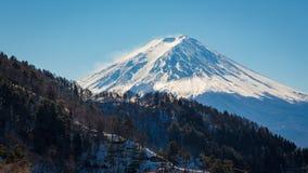 Mt Kawaguchiko do lago de FUJI (Kyoto, Japão) Imagens de Stock