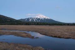 Mt kawaler przy Błękitną godziną fotografia royalty free