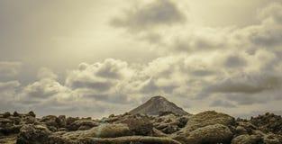 Mt Keilir, Islanda Immagini Stock Libere da Diritti