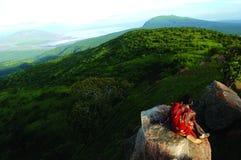 Mt Kenja obraz royalty free