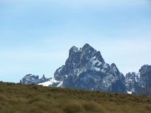 Mt Kenya Royaltyfria Bilder