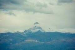 Mt kenya Arkivfoto