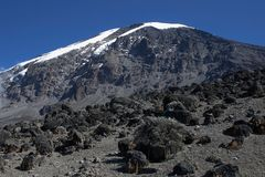 Mt. Kilimanjaro, África fotografia de stock royalty free
