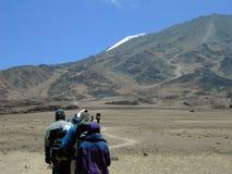 Mt.Kilimanjaro Immagine Stock