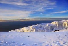 Mt Kilimanjaro lizenzfreies stockfoto