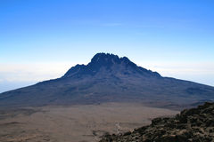 Mt Kilimanjaro - Moshi Royalty Free Stock Photo