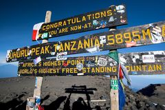 Mt Kilimanjaro - Moshi Stock Photo