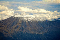 Mt Kilimanjaro - Moshi. Mt Kilimanjaro the highest mount in Africa which reaches 5,895 metros at Kibo peak Stock Photography