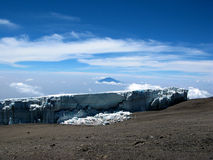 Mt Kilimanjaro - Moshi Royalty Free Stock Images