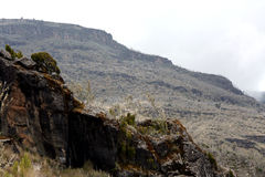 Mt Kilimanjaro, Tanzania, Africa Stock Photos