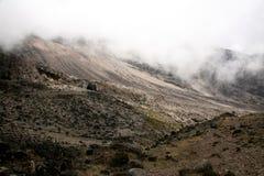 Mt Kilimanjaro, Tanzania, Africa. Rugged Landscape at Mt Kilimanjaro in Tanzania, Africa Stock Image