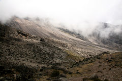Mt Kilimanjaro, Tanzania, Afryka Obraz Stock