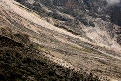 Mt Kilimanjaro, Tanzania, Afryka Zdjęcia Royalty Free