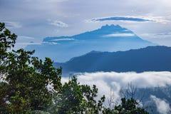 Mt Kinabalu fotografia stock