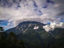 Mt Kinabalu zdjęcie royalty free