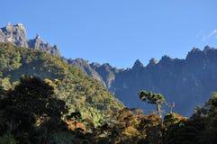 Mt.Kinabalu Borneo malaysia. Peak of mount kinabalu seen from afar Royalty Free Stock Photography