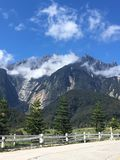 Mt Kinabalu fotos de archivo libres de regalías