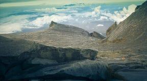 Mt Kinabalu Sabah Malaysia di punta bassa Fotografie Stock