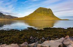 Mt Kirkjufell 库存图片