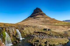 Mt Kirkjufell Fotos de archivo libres de regalías