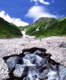 Mt.Kitadake with Ookanbasawa Swamp Royalty Free Stock Photography