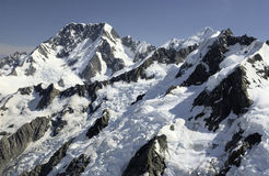 Mt-Koch - Neuseeland Lizenzfreie Stockfotos
