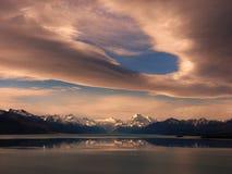 Mt-Koch, Neuseeland Lizenzfreies Stockbild
