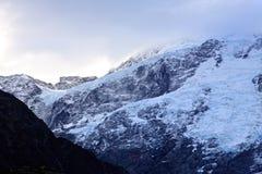 Mt Kock södra ö Nya Zeeland Royaltyfria Bilder
