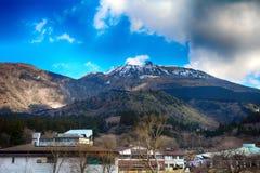 Mt. Komagatake, Fuji-Hakone-Izu National Park, Japan Stock Image