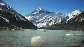 Mt kucharz i glacjalny jezioro zbiory
