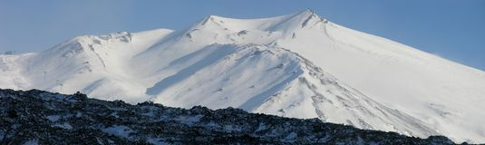 Mt. l'Etna Photos stock