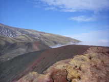 Mt l'Etna, Sicile, Italie Image stock