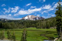 Mt Lassen image libre de droits