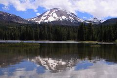 Mt. Lassen Royalty Free Stock Image