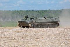 MT-LB pomocniczy opancerzony wyśledzony pojazd Fotografia Stock