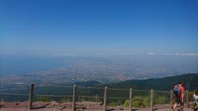 Mt le Vésuve Image libre de droits