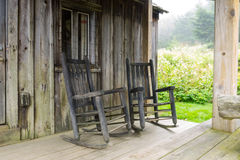 Mt LeConte Cabin Stock Image