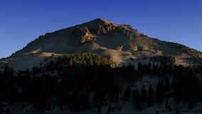 Mt Lever de soleil de Lassen banque de vidéos